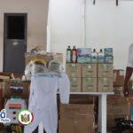 Gobierno Municipal donó insumos de bioseguridad al personal de la Policía para prevenir y contener el contagio del coronavirus